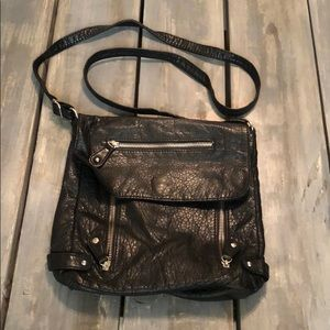 Black Mossimo Faux Leather Crossbody